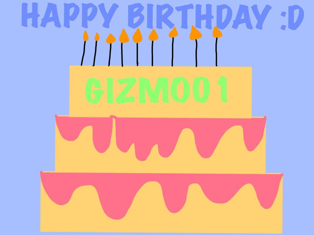 Gizmo Birthday Cake