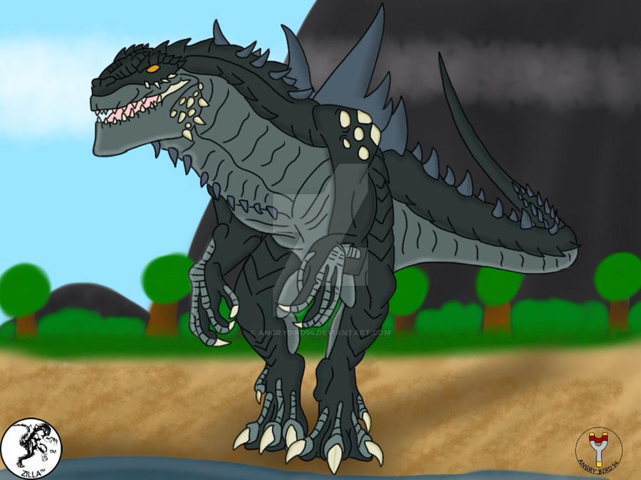 Godzilla 1998 By Angrybird54 On Deviantart