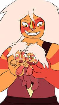 jasper and her twins