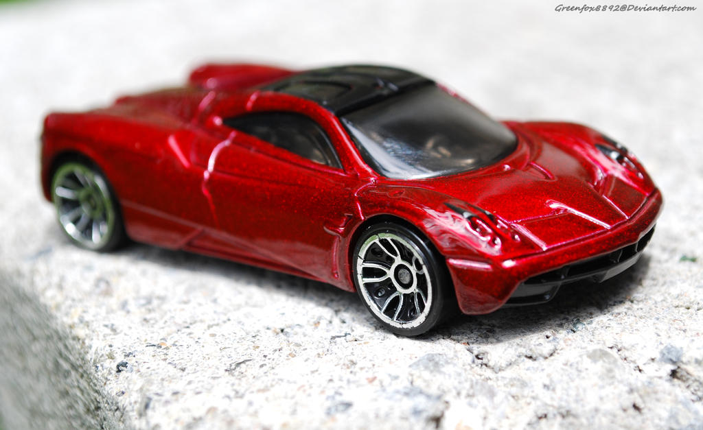 Hot wheels Pagani Huayra by Greenfox8892 on DeviantArt