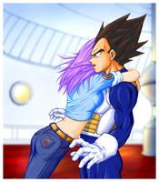 Dragon Ball, Vegeta + Bulma by Geniever356