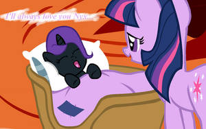 Putting Nyx to Bed by Bronyboy