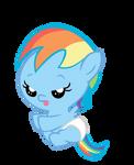 Baby Rainbow Dash