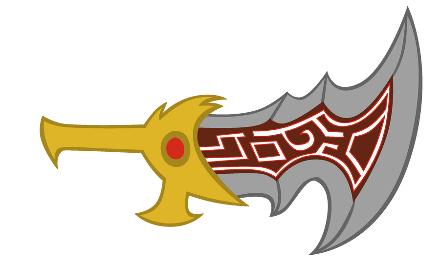 Blade of Chaos Vector by Bronyboy on DeviantArt