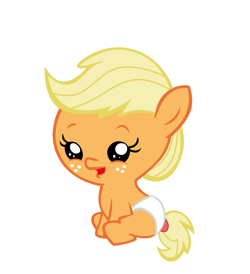 My little pony baby applejack - photo#16
