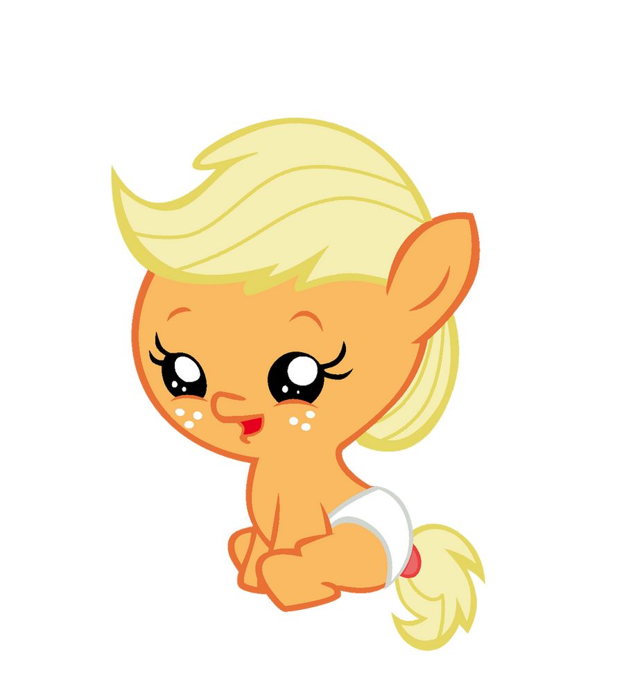 My little pony baby applejack - photo#2
