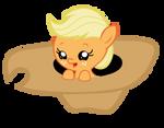 Baby Applejack in Hat