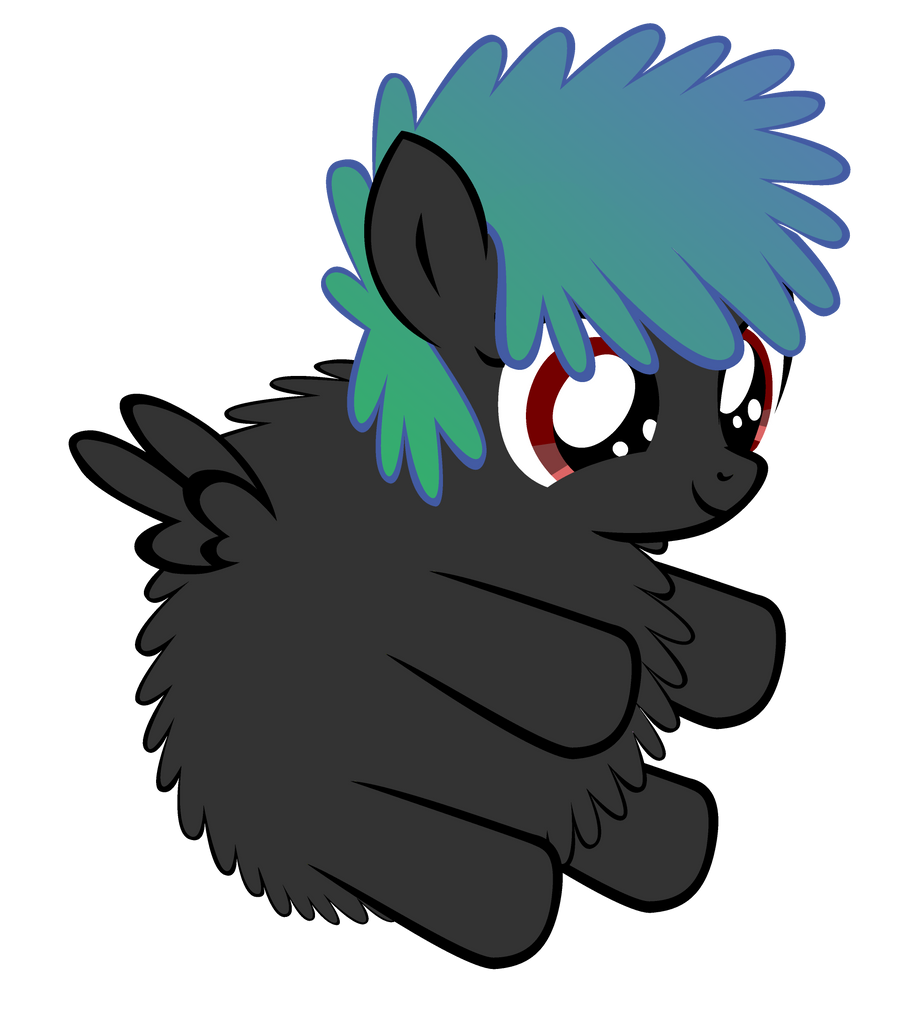 Fluffy Paint Heart by Bronyboy