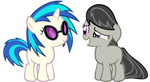 Filly Octavia and Scratch