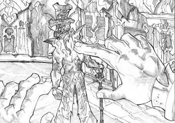 Dracula # 7 by greenhickup