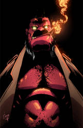 Hellboy by greenhickup
