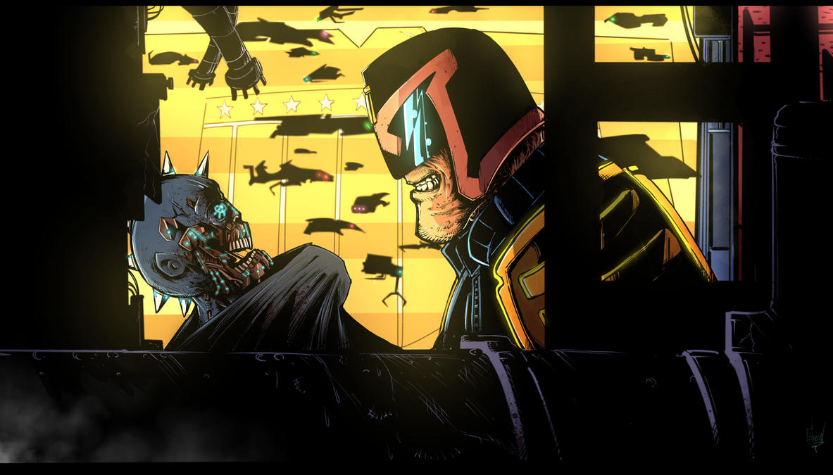 Dredd animated concept by greenhickup