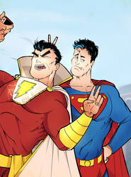Shazaaam Supes by greenhickup