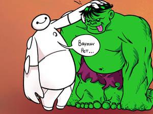 Baymax Hulk