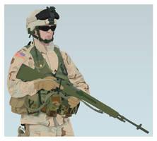 M14 Guy by dragunova