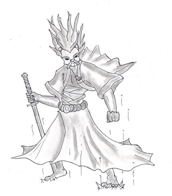 Ki Edo Manga by SvirreFisk