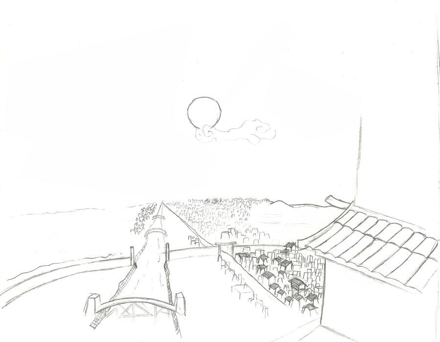 Edo sketch by SvirreFisk