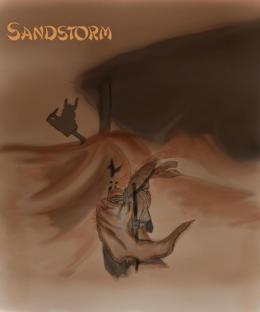 Sandstorm by SvirreFisk