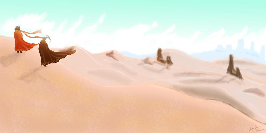 Endless desert by SvirreFisk