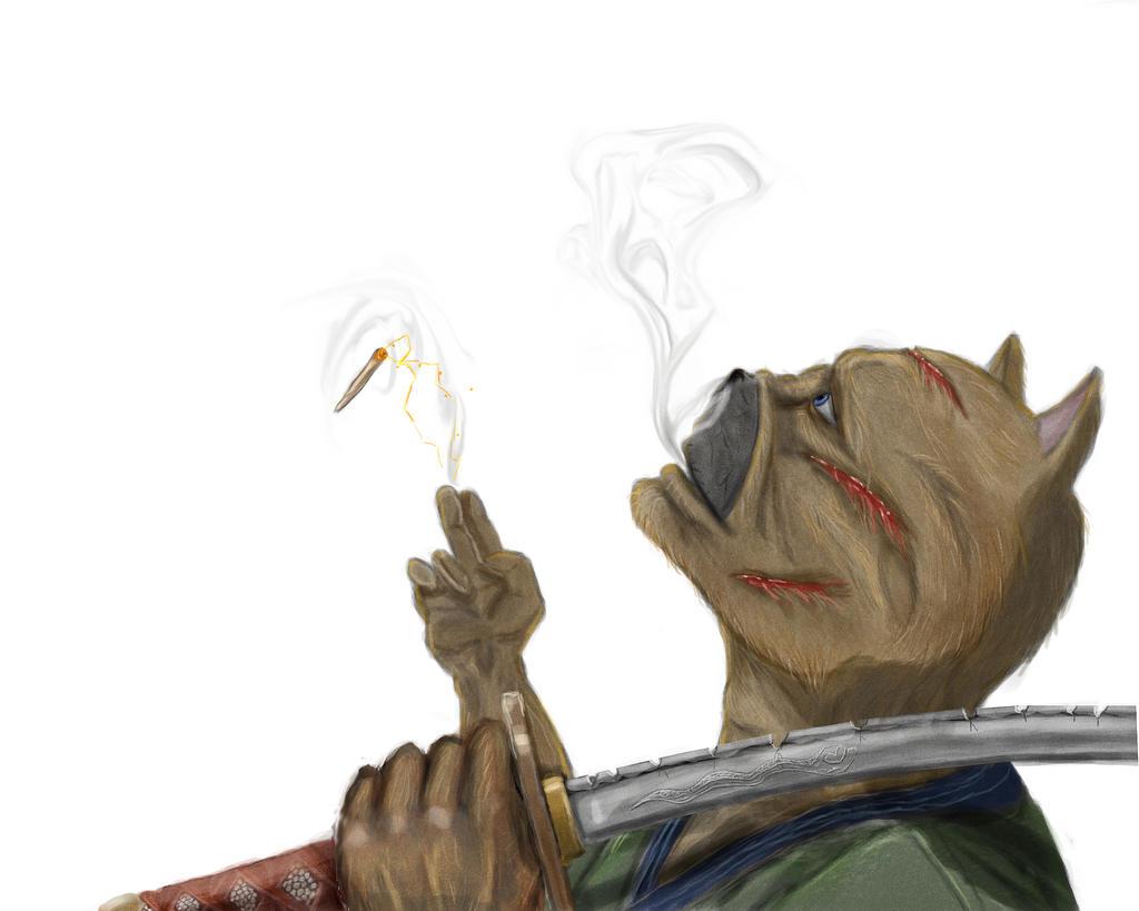 Last smoke by SvirreFisk