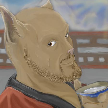 Sake Cat by SvirreFisk
