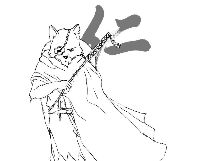 Jin Sakai by SvirreFisk