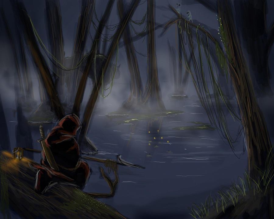 Swampmonster by SvirreFisk
