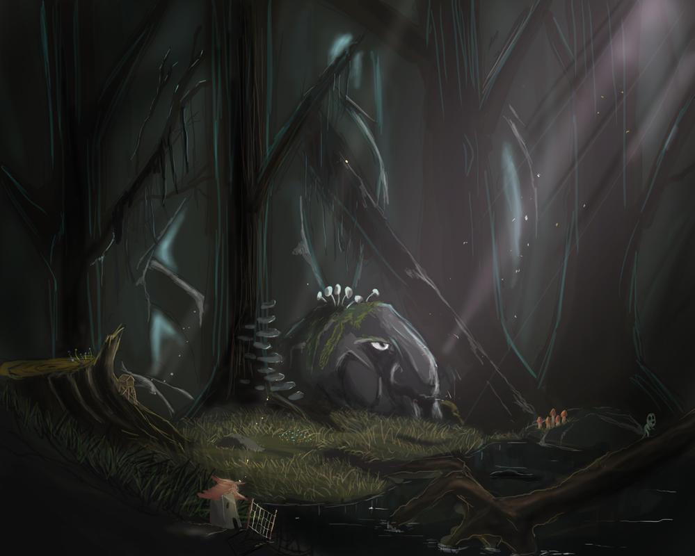 Trollskog by SvirreFisk