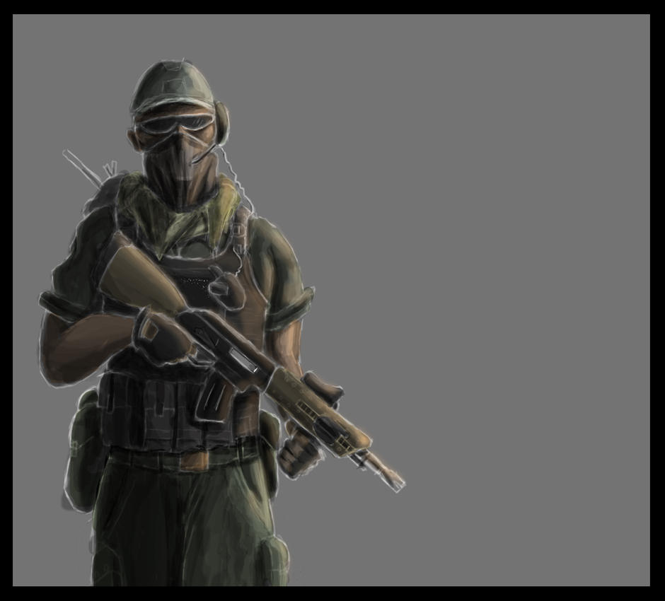 Soldier3 by SvirreFisk