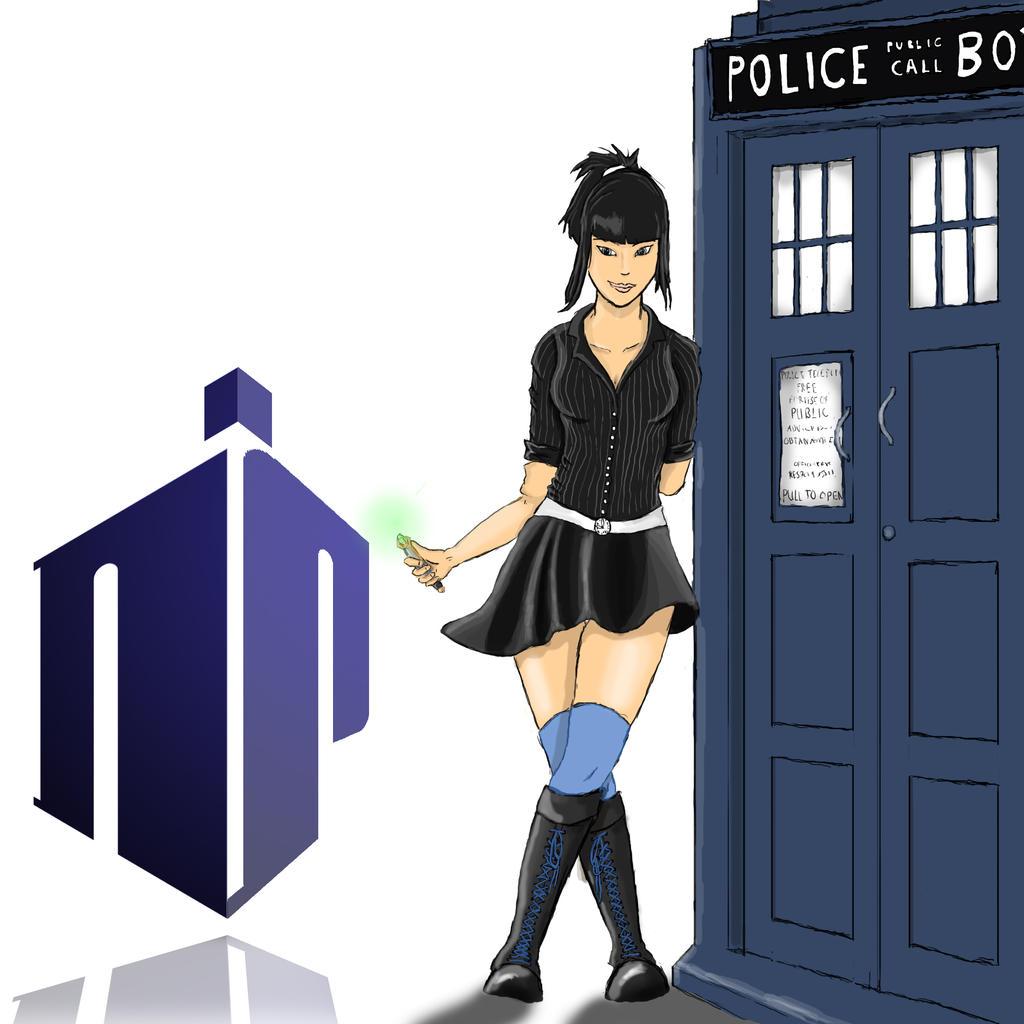 Doctor who, Girlfriend by SvirreFisk