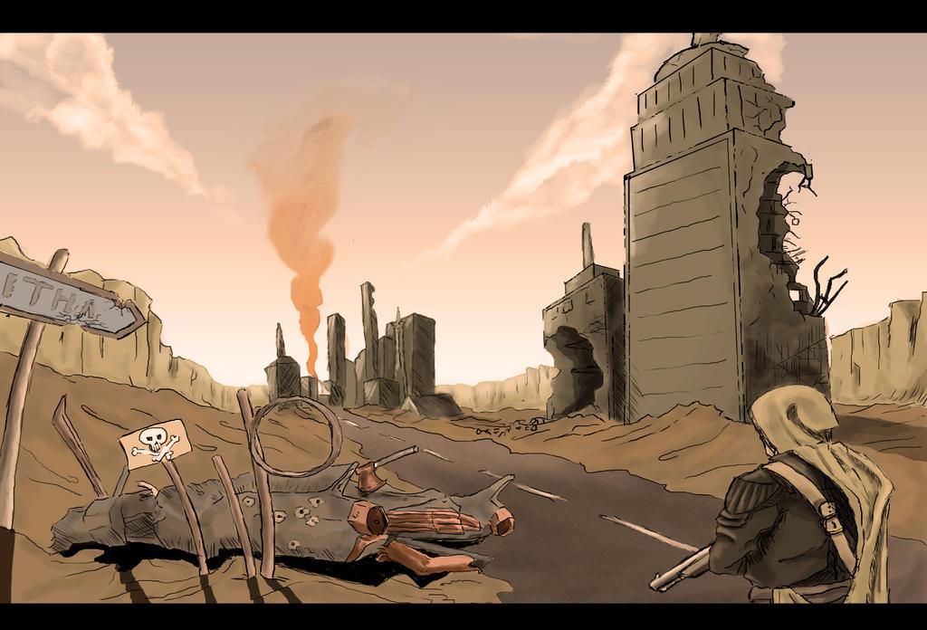 Wasteland Survival by SvirreFisk