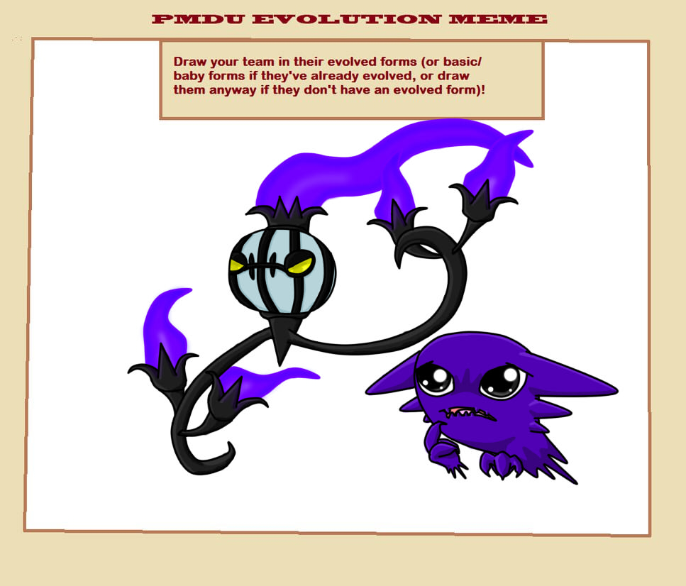 Evolution Meme: CandleJack and Shadow by TeamNinjaBug on DeviantArt