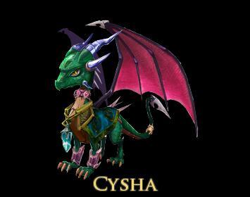 Cysha by Sacred-Wolf-Aqua
