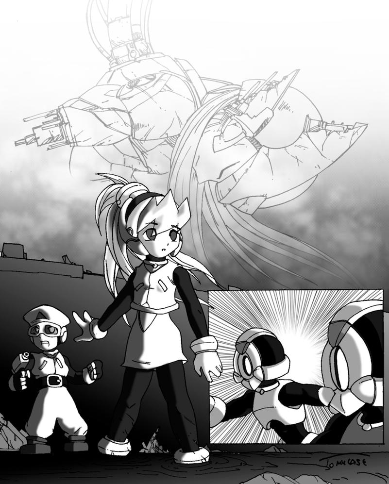 Cobra Manga 2010 Streaming: Rockman Zero Manga Page By Tomycase On DeviantArt