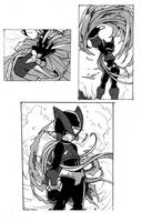 RZ2 Manga sketch - Departure by Tomycase