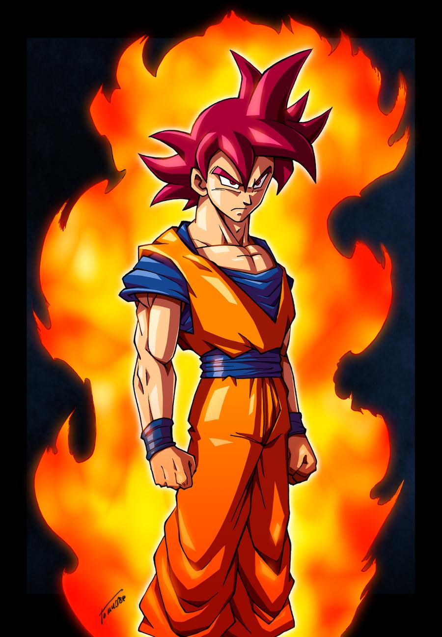 Amado Goku SSJGOD by Tomycase on DeviantArt YY06