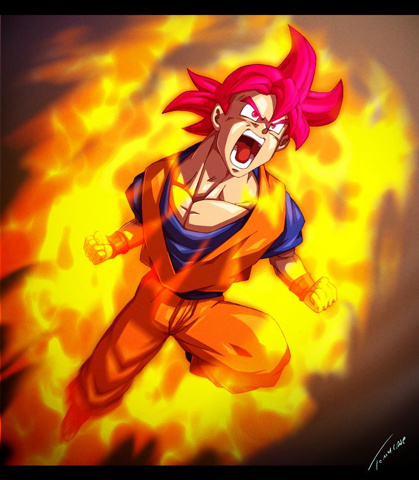 Super Saiyan God Rising By Tomycase