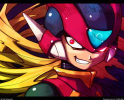 Nightmare Rockman : Omega Zero by Tomycase