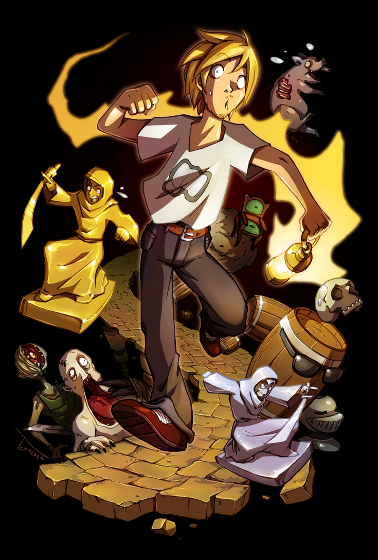 Pewdiepie : Amnesia Adventures by Tomycase on DeviantArt