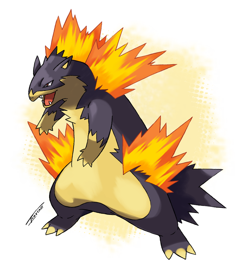 Mega Typhlosion Scrap By Tomycase On Deviantart Simple Engine Diagram Images Pictures Becuo