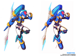 Thetis - Shading Style Comparison