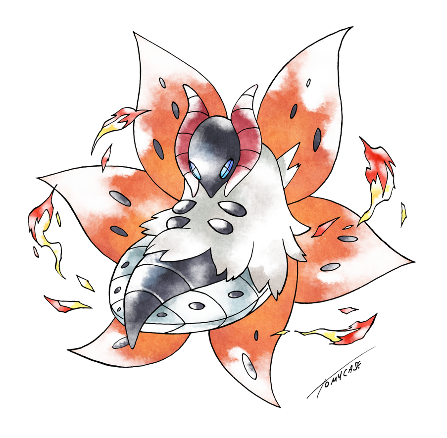 volcarona old s style by tomycase on deviantart