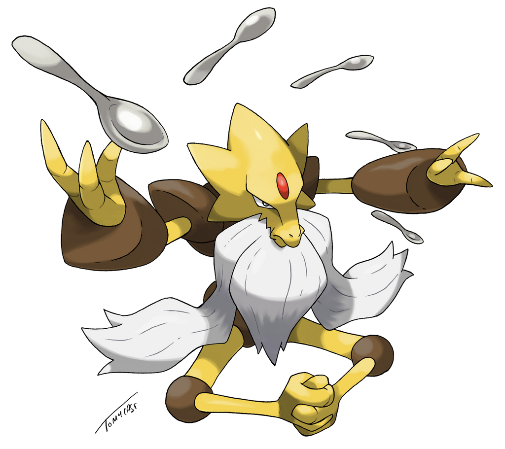 Mega-Alakazam (modified) by Tomycase on DeviantArt