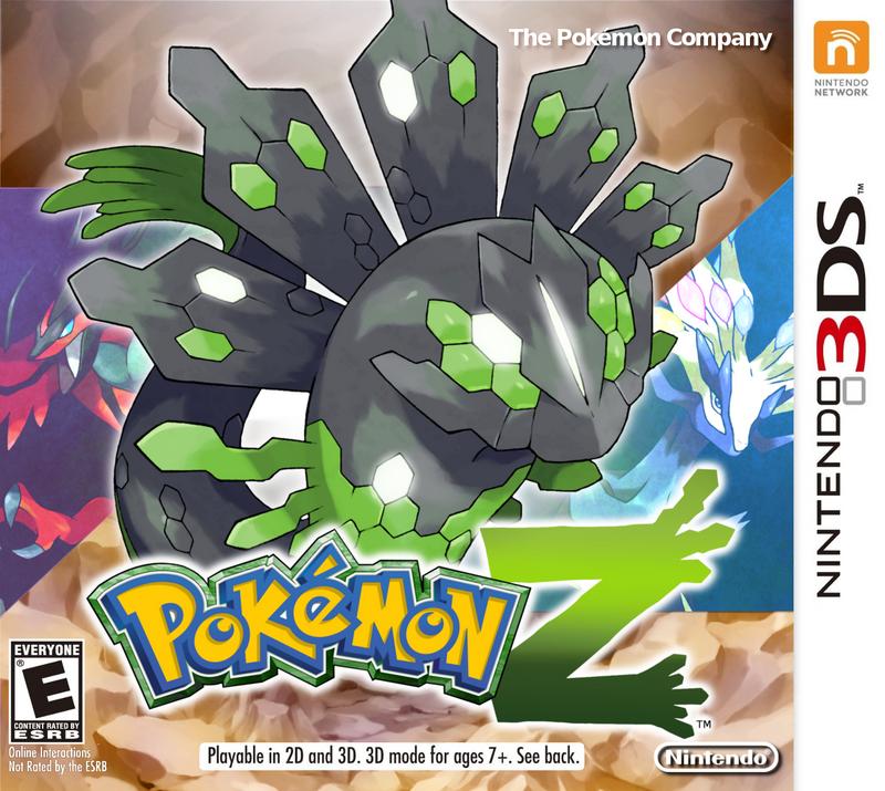 Nintendo 3ds Pokemon Games : Pokemon z for ds