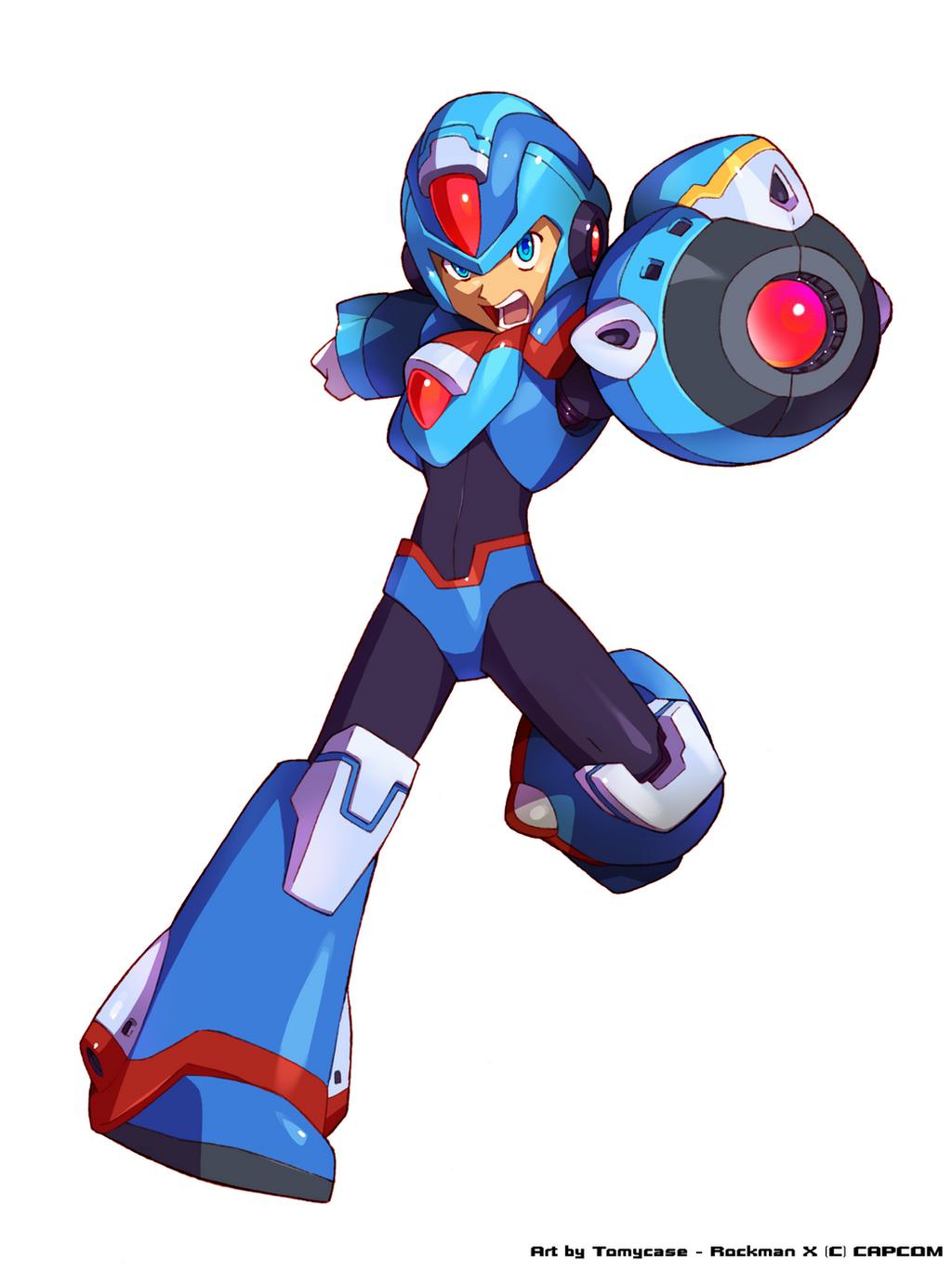 Megaman x revamp hunter x by tomycase on deviantart for Mission exe