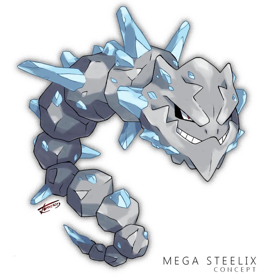 Mega Steelix -Concept- by Tomycase