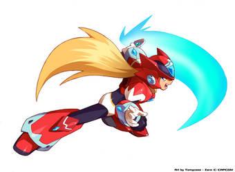 Megaman X Revamp : Hunter Zero by Tomycase