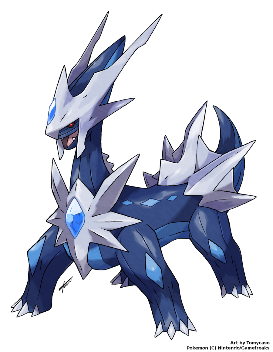 Different Dialga by Tomycase on DeviantArt