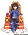 Commission : Zero on his Throne