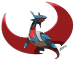 Mega Salamence (official design edited)